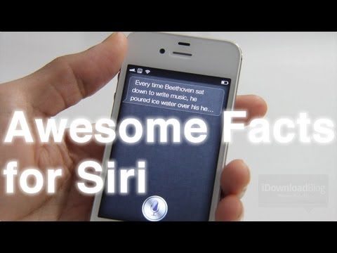 Awesome Facts for Siri