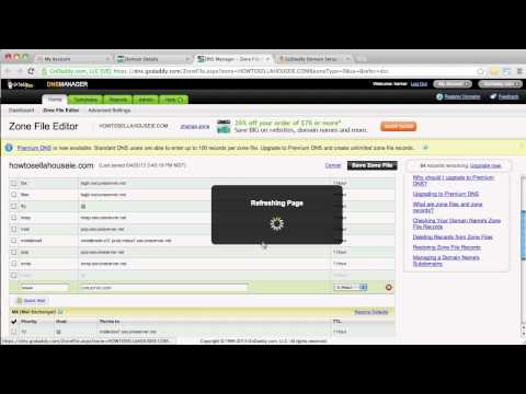 How to Update CNAME Inside of Godaddy