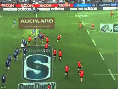 Blues vs Crusaders Rd1 Highlights - Super Rugby 2011  Round 1  Blues vs Crusaders