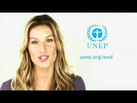 World Environment Day 2013 -Think Eat Save- Gisele Bündchen & Don Cheadle
