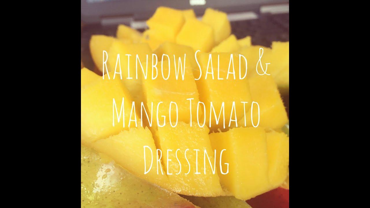 Thailand Rainbow Mango Rainbow Salad Mango Tomato
