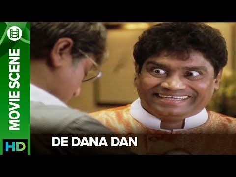 Johnny Lever in a narcotized state - De Dana Dan