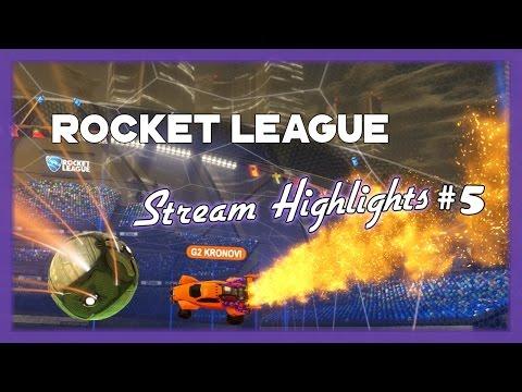 Rocket League - Crazy, Funny, & Epic stream moments #5