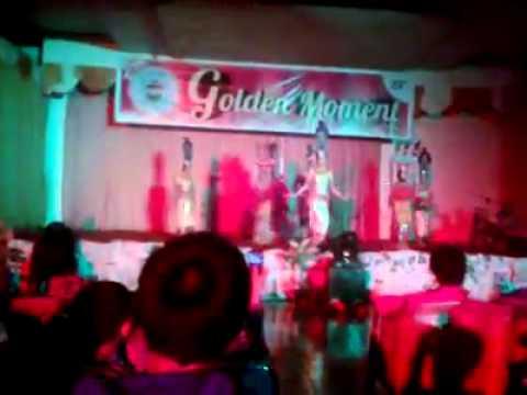tari kreasi Toraja '' Golden Moment HIMAHI FISIP UNIVERSITAS HASANUDDIN XXV''