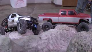 Bronco RC Rock Crawling, Crew Cab Chevy in HD