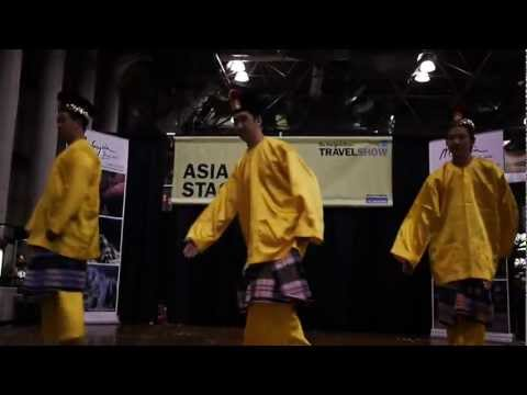 Zapin Ya Salam Malaysian Dance At New York Times Show 2011 video