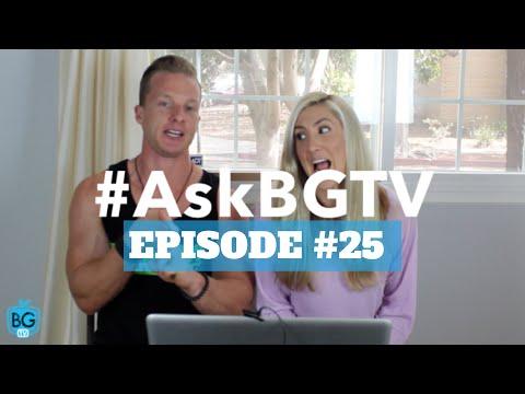 #AskBGTV: Episode #25: Fish Oil | Eating More | Bulk Up