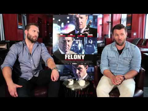 Felony: Jai Courtney & Joel Edgerton Exclusive Interview