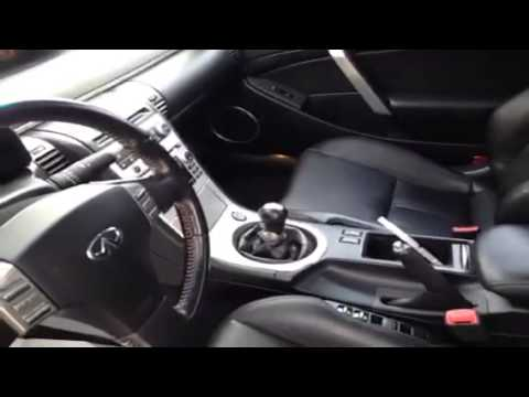 2006 infiniti g35 coupe 2dr manual sport 2 door car youtube. Black Bedroom Furniture Sets. Home Design Ideas