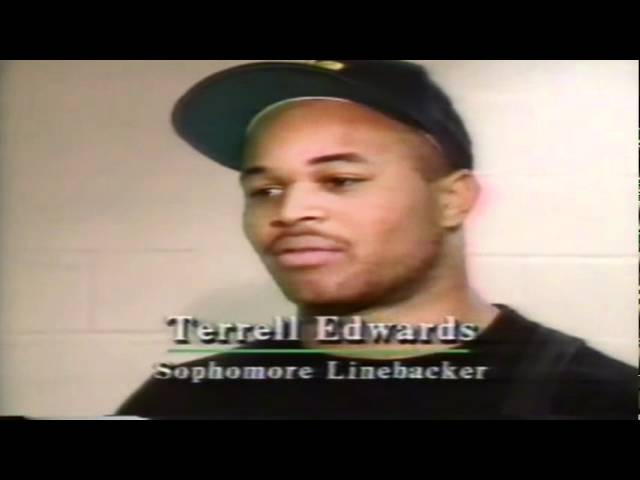 Postgame interviews with Oregon players after losing to Stanford 11-02-1991