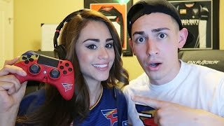 TEACHING MY GIRLFRIEND HOW TO PLAY CALL OF DUTY!