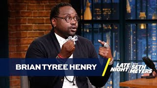 Atlanta's Brian Tyree Henry Calms His Nerves with a Fidget Spinner