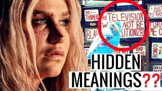 HIDDEN MEANINGS   KESHA - PRAYING (Official Video) + Analysis