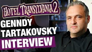 Genndy Tartakovsky Interview On Hotel Transylvania 2 | Rotoscopers