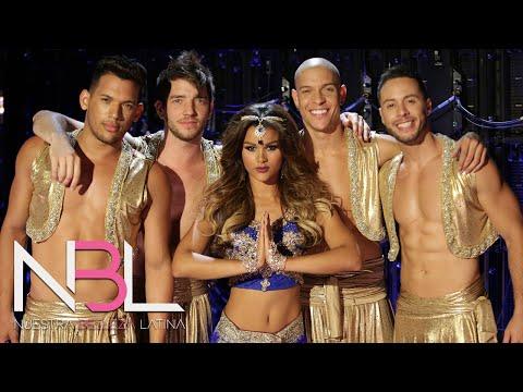 Clarissa encantó como Shakira: todos le aplaudieron de pie