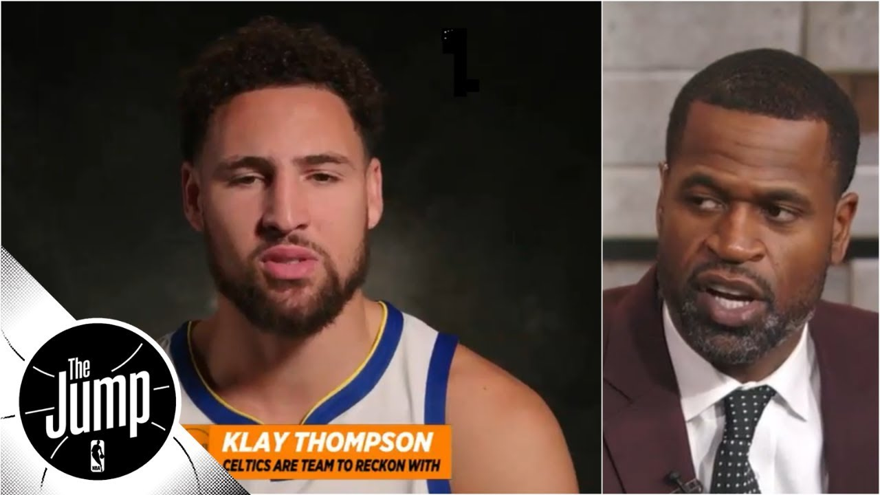 Reacting to Klay Thompson's comments about the Celtics | The Jump | ESPN