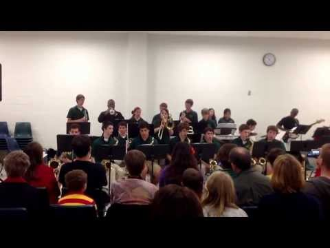 "Cardinal Gibbons High School (Raleigh, NC) Jazz Band 4/28/2013 ""Caravan"" - 05/02/2013"