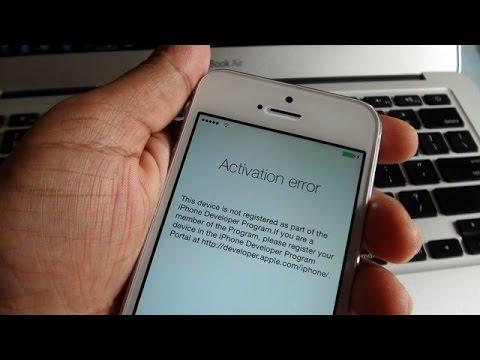 comment activer un iphone 4S sans carte sim