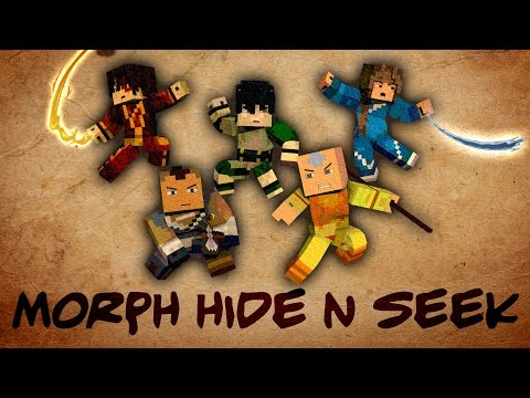 Minecraft Mods   MORPH HIDE AND SEEK - AVATAR THE LAST AIRBENDER! (Avatar, Legend of Korra)