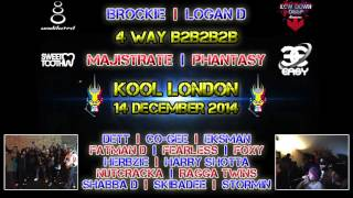 Kool London - DnB History Set - 4 DJ's | 12 MC's | December 2014