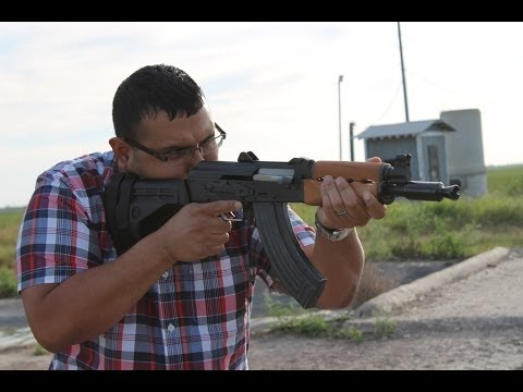 PAP M92 AK47 with the SB47 Arm Brace Shoulder Fire Video 1