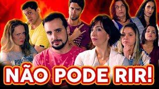 NÃO PODE RIR! com DUBLADORAS (Mabel Cezar, Andrea Murucci, Bruna Laynes, Mariângela Cantú e Rayani..