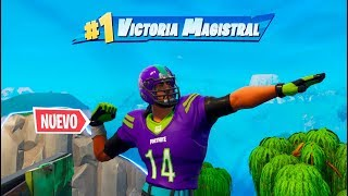 VICTORIA INCREIBLE con **NUEVAS** SKINS DE NFL! FORTNITE: Battle Royale