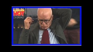 BELOW-Video and Audio of Lying Deep State Kike Michael Wolff Pretending His Earpiece Isn't Working