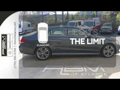 Certified 2014 Mercedes-Benz E-Class Atlanta GA Sandy Springs, GA #U13643