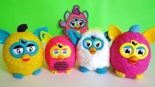 McDonalds Happy Meal Furby Toys
