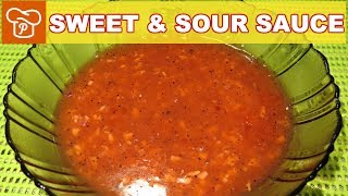 How to Make Sweet & Sour Sauce | Pinoy Easy Recipes