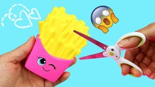 DIY SQUISHY BACK TO SCHOOL SUPPLIES! 4 WAYS TO SNEAK SQUISHIES INTO CLASS