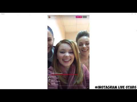 Ольга Кузьмина,Диана Пожарская и Рина Гришина трансляция со съемочной площадки Отель Элеон