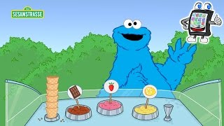 Sesamstrasse App deutsch | Krümelmonster Eis verkaufen - Cookie Monster Ice Cream Shop