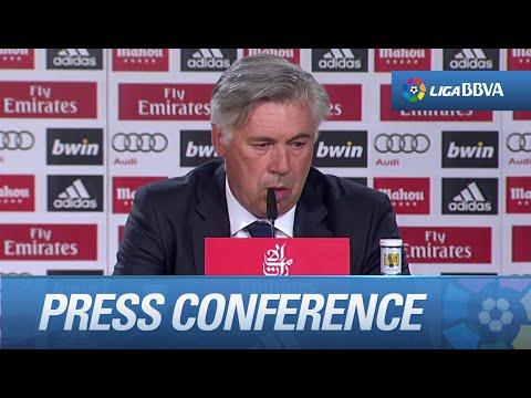 """Carlo Ancelotti: """"Necesitamos más velocidad y ritmo"""""""