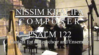 Psalm 122 - for string quartet, 2 harps & SATB