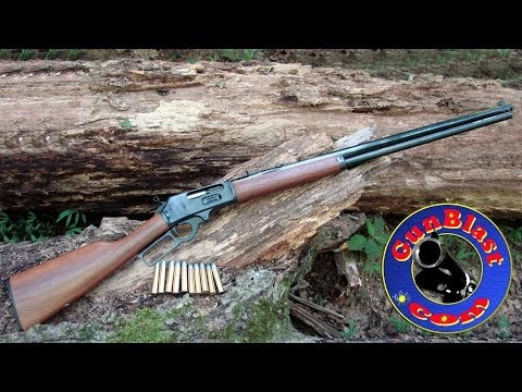 Shooting the New Marlin Model 1895 Cowboy 45-70 Lever-Action Rifle - Gunblast.com