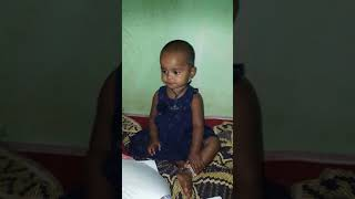 Baby vini telling English alphabets easily abc learning by 2 year old baby