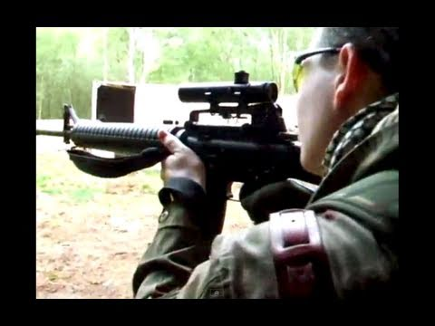 Airsoft War G36C M4 L85 M1A1. The Fort. Scotland