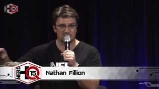 Nerd HQ 2015: A Conversation With Nathan Fillion (Day 3)