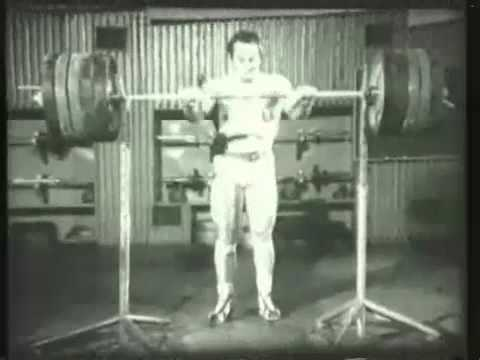 Old School Strength Training Image 1