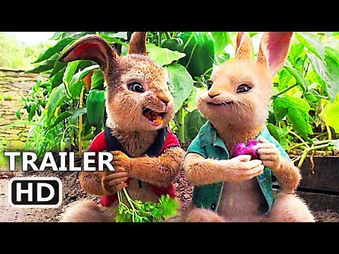 PЕTER RABBІT Trailer # 3 (2018) Margot Robbie, Daisy Ridley Animation Movie HD