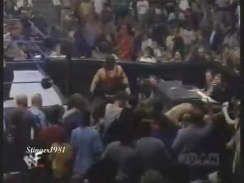 The Rock vs Christian and kane wwf title thumbnail