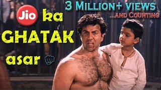 JIO ka GHATAK asar | Dubbed video | Shivam