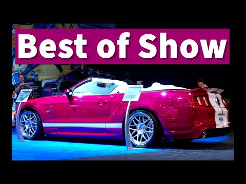 Creations n  Chrome Spray on Chrome Pony Girl 5.0 Mustang at SEMA 2010