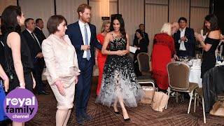 Prince Harry and Meghan shine at the Australian Geographic Society awards