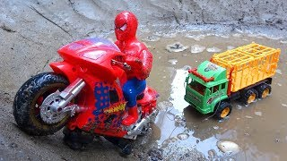 Motorbikes and cars play together B553S - Toys for kids