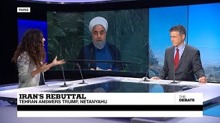 Iran's rebuttal: Tehran answers Trump and Netanyahu