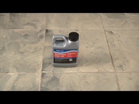 How to remove grout from floor tile