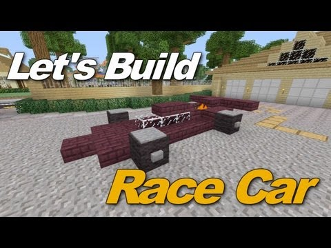 Minecraft Xbox 360: Awesome Race Car Tutorial!